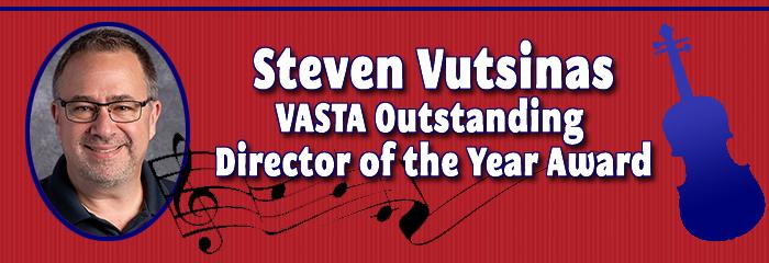 Steven Vutsinas - VASTA Outstanding Director of the Year Award