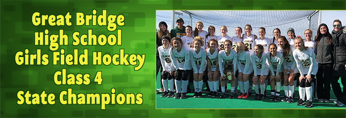 Great Bridge High School Girls Field Hockey - Class 4 State Champions