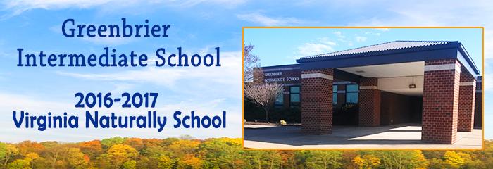 greenbrier intermediate school - 2016-2017 virginia naturally school - building photo