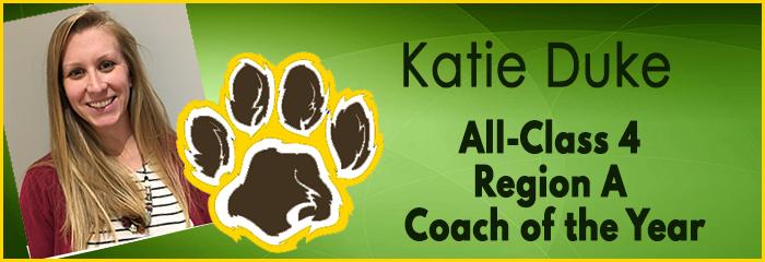 katie duke - all class 4 region a coach of the year