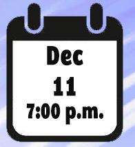 calendar - dec. 11 @ 7pm