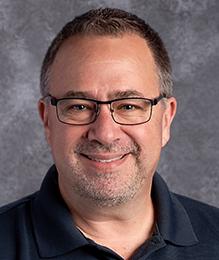 Grassfield High School orchestra teacher, Steven Vutsinas