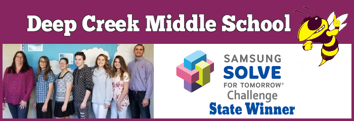 Deep Creek Middle School - Samsung Solve for Tomorrow Challenge State winner - samsung solve for tomorrow - puzzle icon