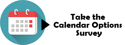 Take the calendar options survey - calendar icon