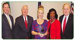 Western Branch Middle School Teacher Honored with askHRgreen.org Environmental Action Award