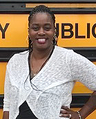 Barbara Lynk, Bus Driver of the Month, March 2018