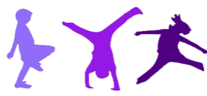 thumbnail of children playing in purple for military children