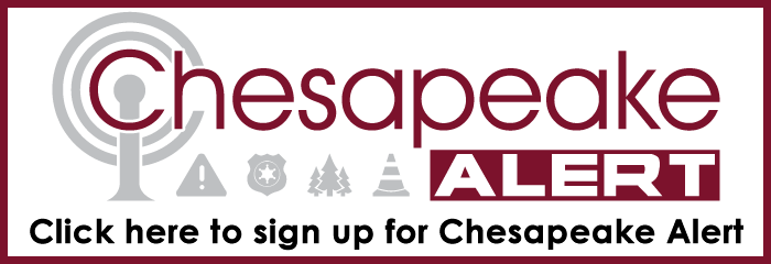 Chesapeake Alert Click here to sign up for Chesapeake Alert