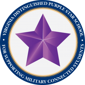 Virginia Distinguished Purple Star School Symbol