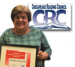 Kathy Doren - Reading Teacher of the Year
