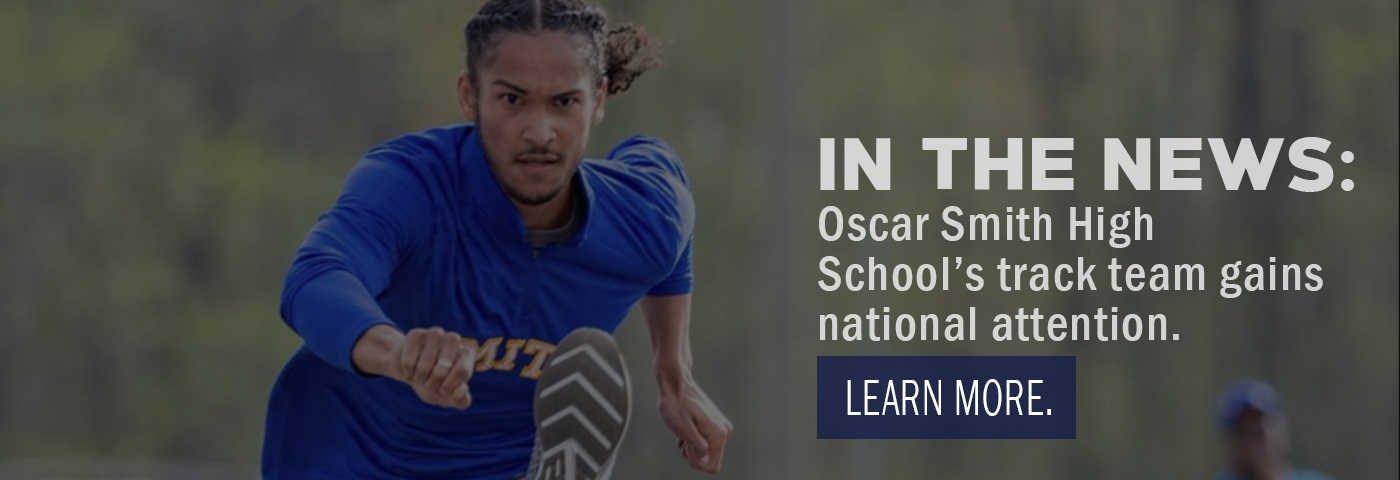 In the News: Oscar Smith High School's track team gains national attention.