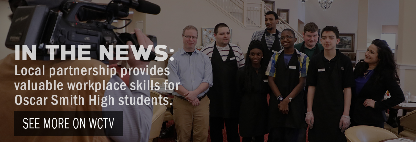 In the News: Local partnership provides workplace skills for Oscar Smith High students. See more on WCTV.