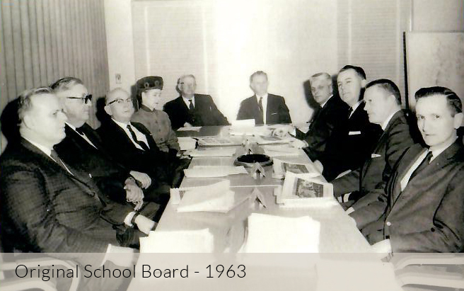 Original School Board - 1963