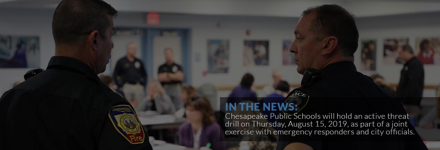 Chesapeake Public Schools 312 Cedar Road Chesapeake, VA 23322 • 757