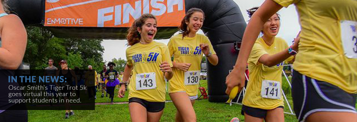 In the News: Oscar Smith High School Tiger Trot 5K goes virtual this year to support students in need.