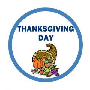 Thanksgiving Day calendar image