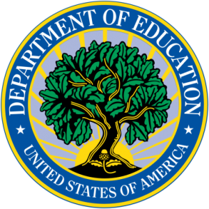 official seal for the US Department of Education