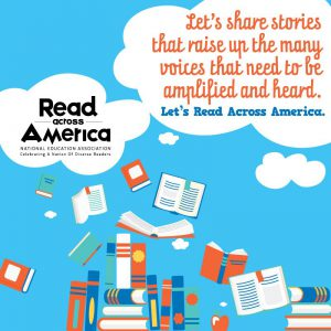 Chesapeake Public Schools celebrates Read across America. National Education Association: Celebrating a Nation of Diverse Readers. Let's share stories that raise up the many voices that need to be amplified and heard.