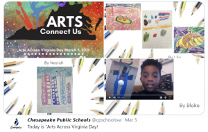 Twitter link: Arts Across Virginia featuring GTP