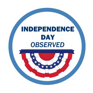 Independence Day - Observed