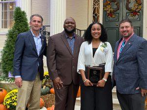 Daphne Fulson is announced the Virginia Teacher of the Year
